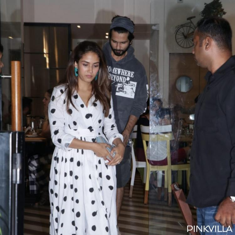 Photos: Shahid Kapoor and Mira Rajput get the perfect start to their weekend with a dinner date