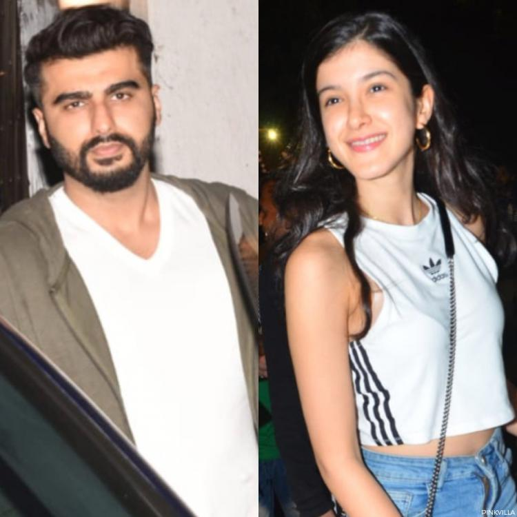 PHOTOS: Arjun Kapoor, Shanaya, Anshula & others step out for a family gathering in the city