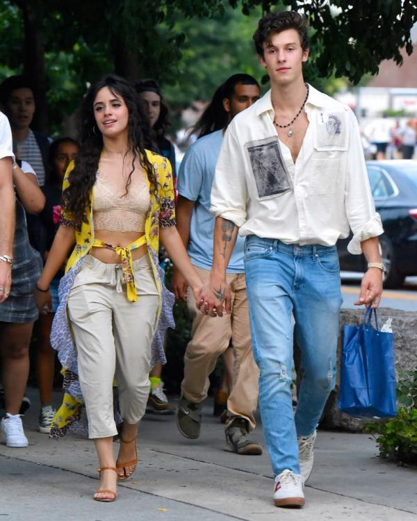 Shawn Mendes And Camila Cabello Pack On The Pda At Date Night In