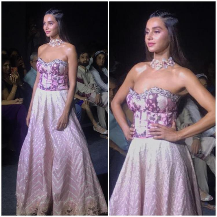 Shibani Dandekar turns showstopper for the second time at LFW 2019