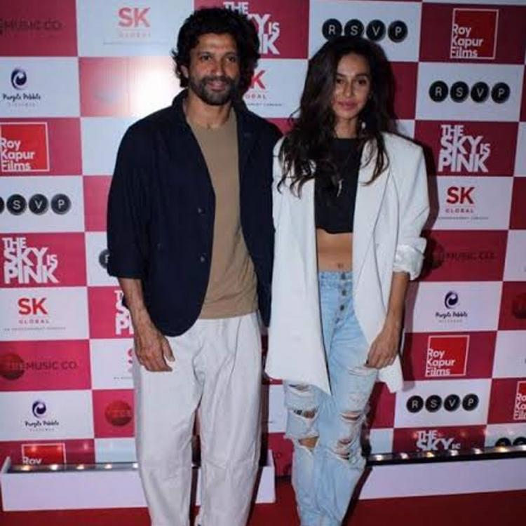 Farhan Akhtar's bae Shibani Dandekar is all praises of The Sky Is Pink's team; Check out her reaction