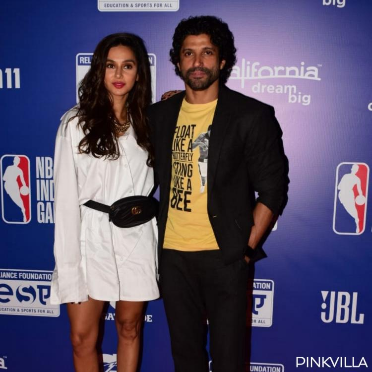 PHOTOS: Farhan Akhtar and girlfriend Shibani Dandekar pose for the paps as they attend an event together