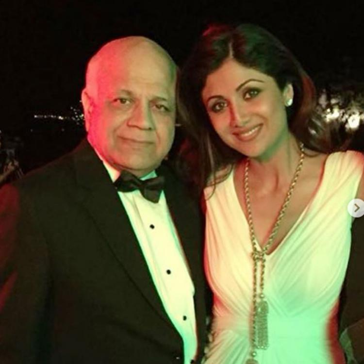 Shilpa Shetty Kundra gets emotional on her father's death anniversary; Says 'Can't believe it's been 3 years'