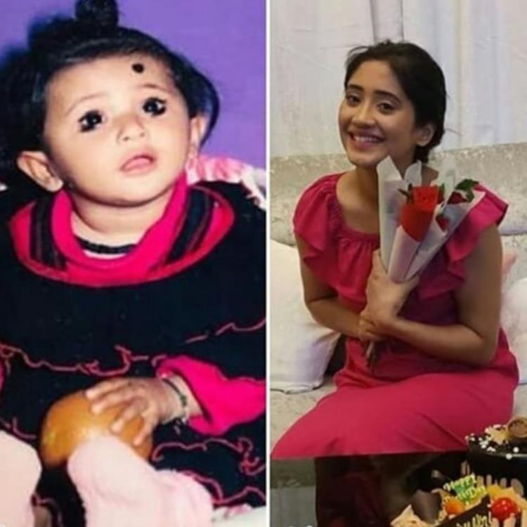 Shivangi Joshi's 'Then and Now' picture proves the star is as cute as she was in her childhood; Take a look