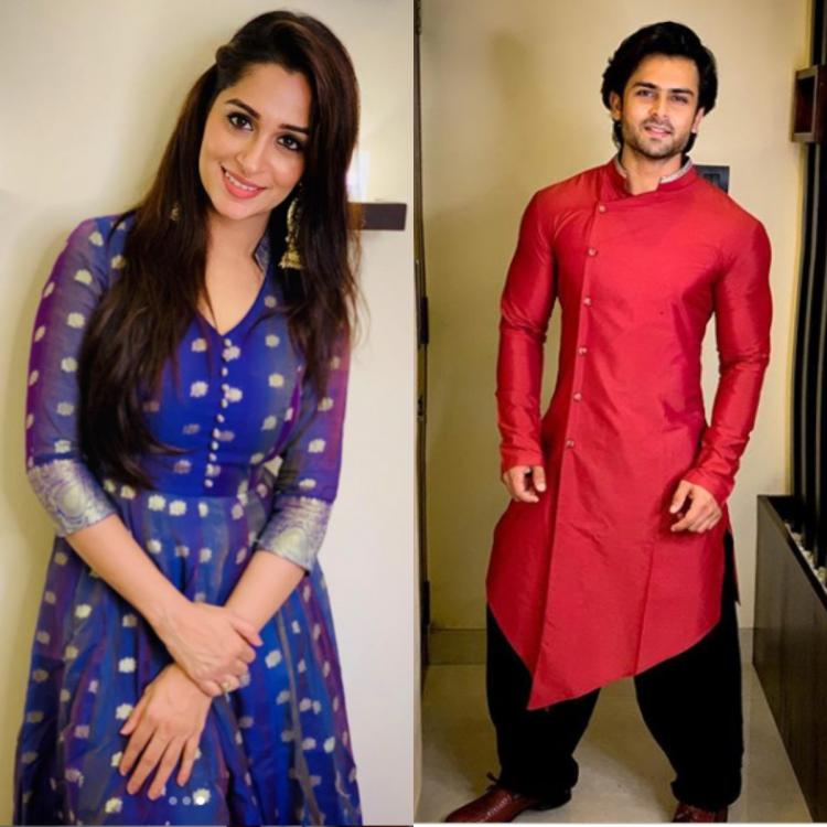 Dipika Kakar and husband Shoaib Ibrahim have a colourful Eid as they flaunt their OOTD; view PICS