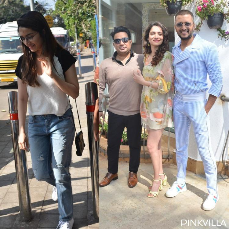 PHOTOS: Shraddha Kapoor steps out in the city as Riteish Deshmukh & Ankita Lokhande promotes Baaghi 3