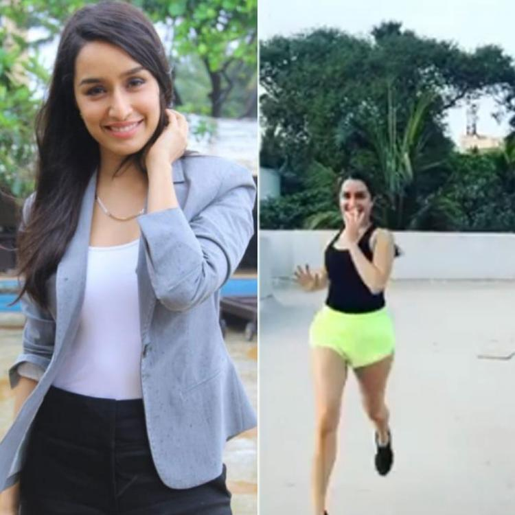 Shraddha Kapoor dishes out major fitness goals as she enjoys workouts on terrace during lockdown; Check it out