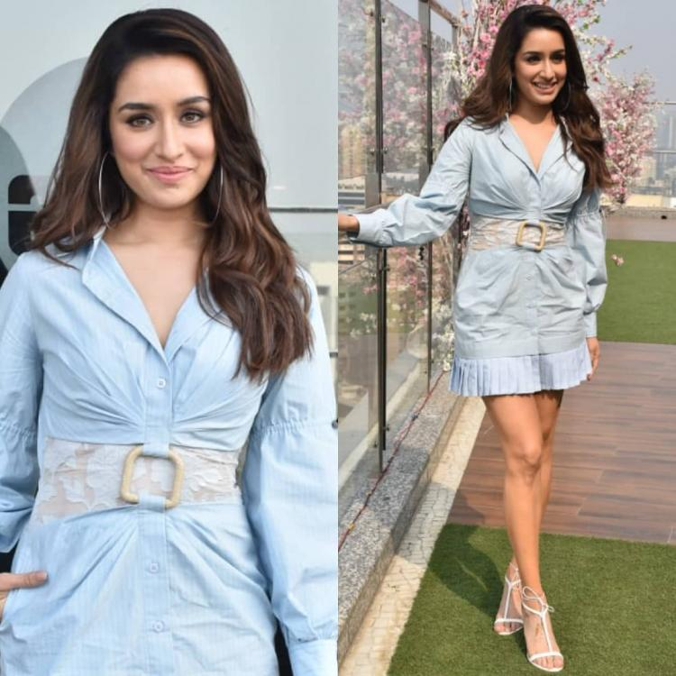 Shraddha Kapoor debuts her spring style early as she steps out in a blue dress by Kanika Goyal; Yay or Nay