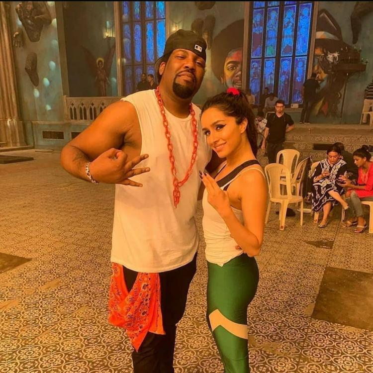 Shraddha Kapoor shows off her swag in this BTS pic as she strikes a pose on the sets of Street Dancer 3D