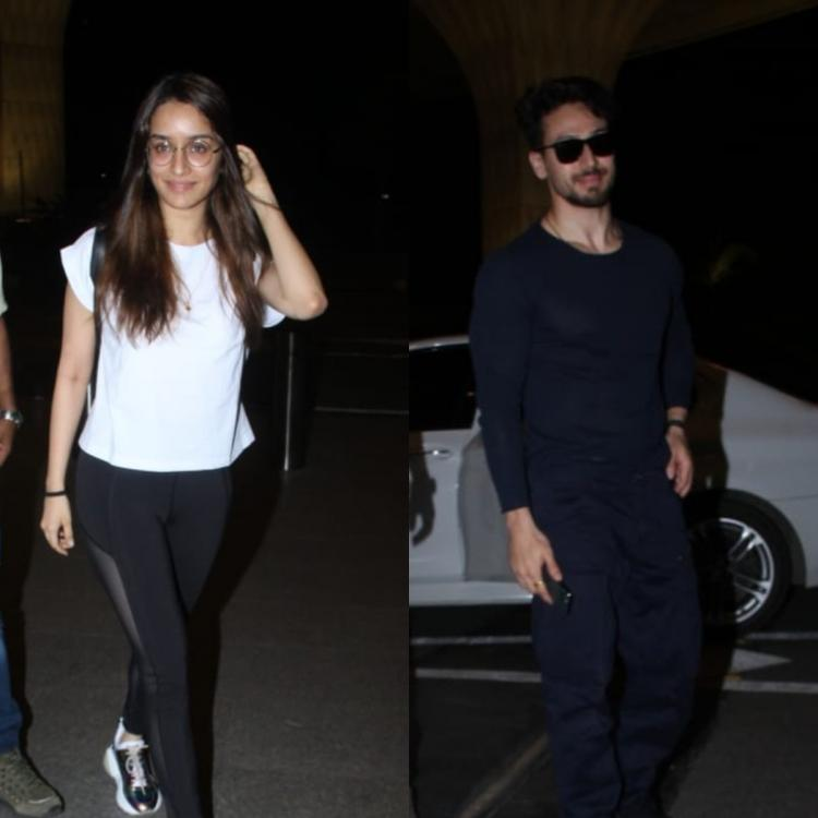 PHOTOS: Shraddha Kapoor and Tiger Shroff jet off for the shoot of their action drama Baaghi 3