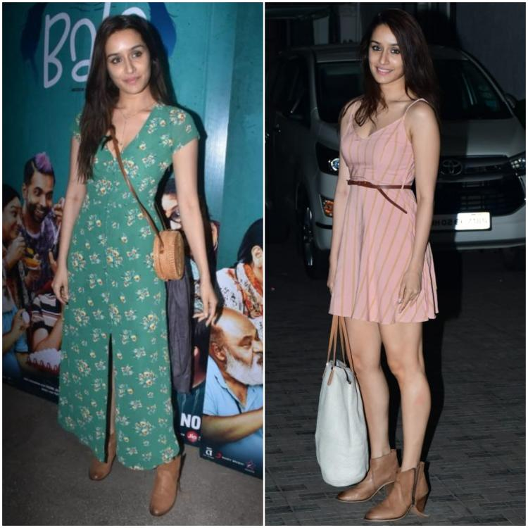 Shraddha Kapoor does Fall fashion right; Styles tan boots in two ultra chic and girly ways