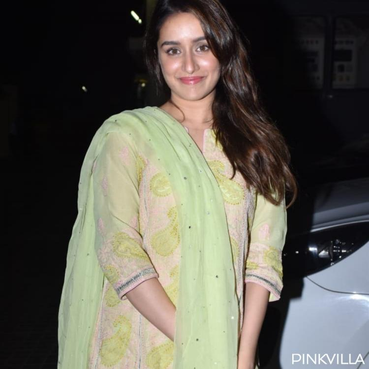 PHOTOS: Shraddha Kapoor looks undeniably pretty as she dons green salwar kameez at a movie screening