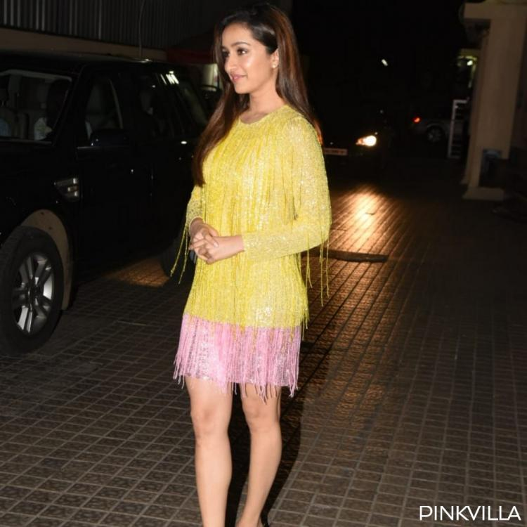 PHOTOS: Shraddha Kapoor puts shimmer and tassels together for her outfit at the Street Dancer 3D screening