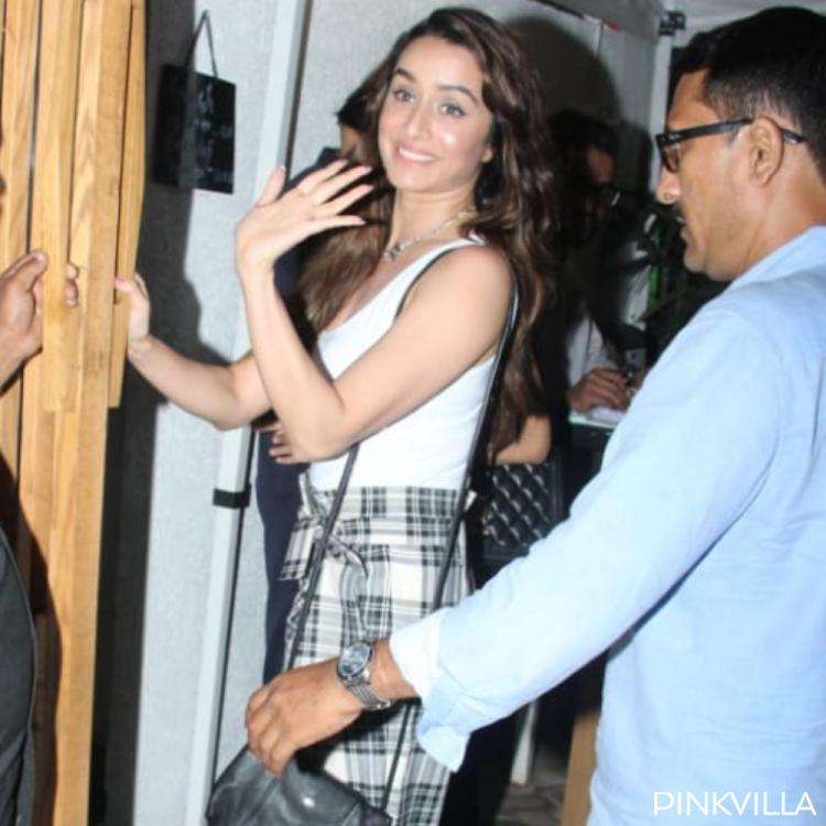 PHOTOS: Baaghi 3 actress Shraddha Kapoor is a bundle of happiness as she dines out at a restaurant in the city