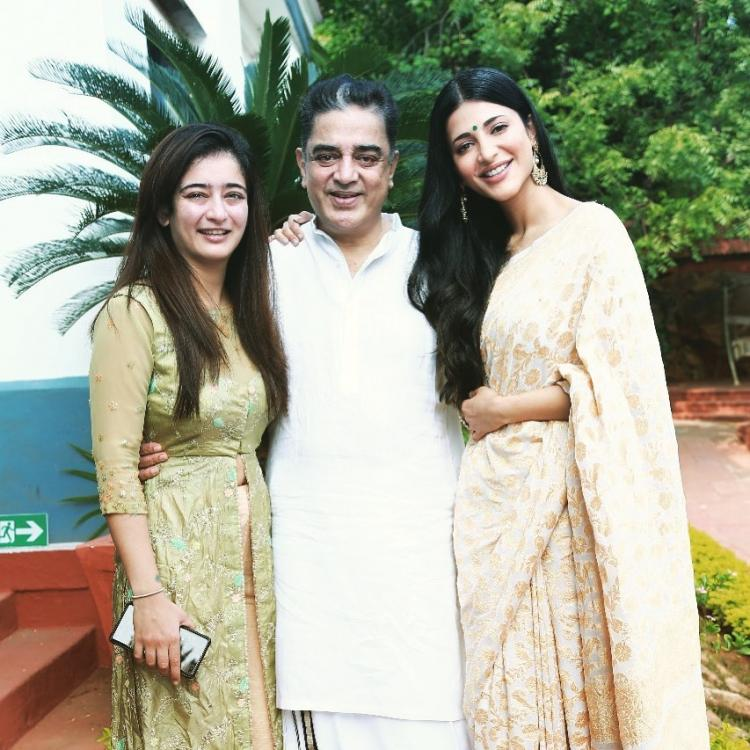Happy Birthday Kamal Haasan: Shruti Haasan pens a heartfelt note for her dad as they take a trip to Paramakudi