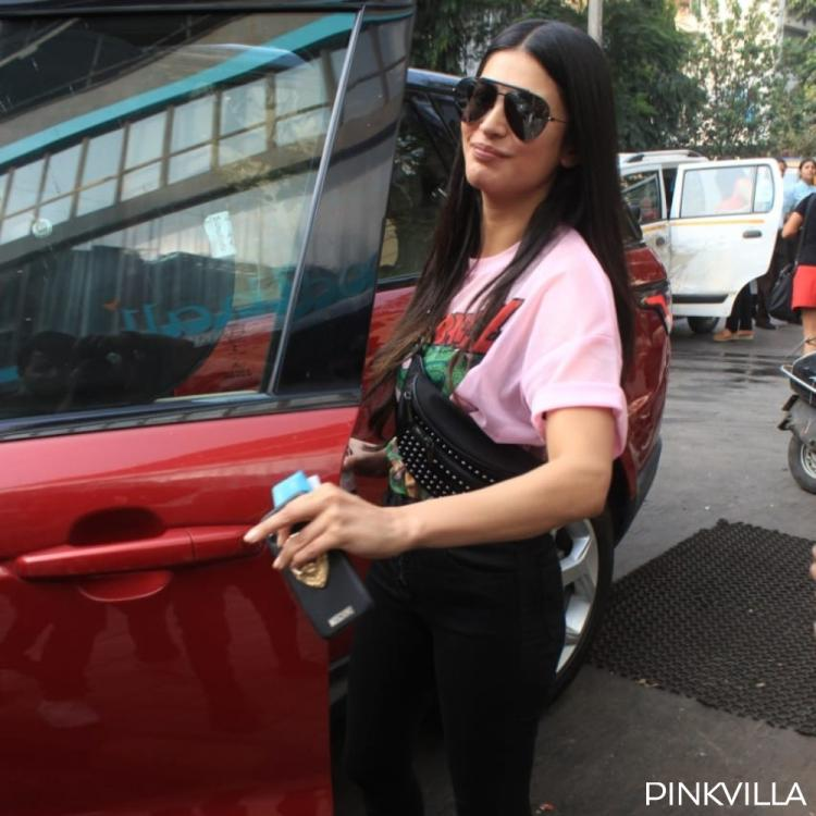 PHOTOS: Shruti Haasan keeps it casual yet looks super stylish as she steps out in the city