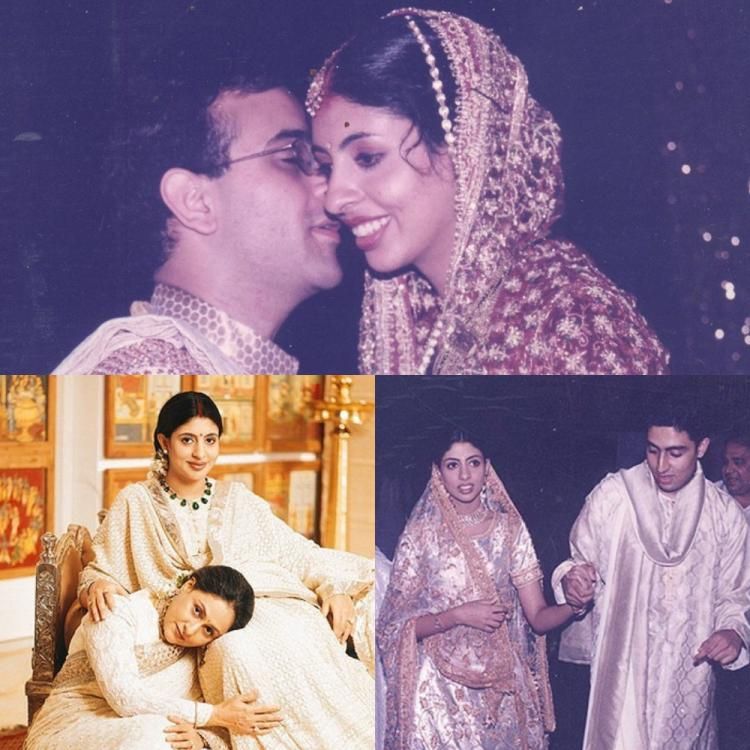 Pictures never seen before from Shweta Bachchan's dreamy wedding
