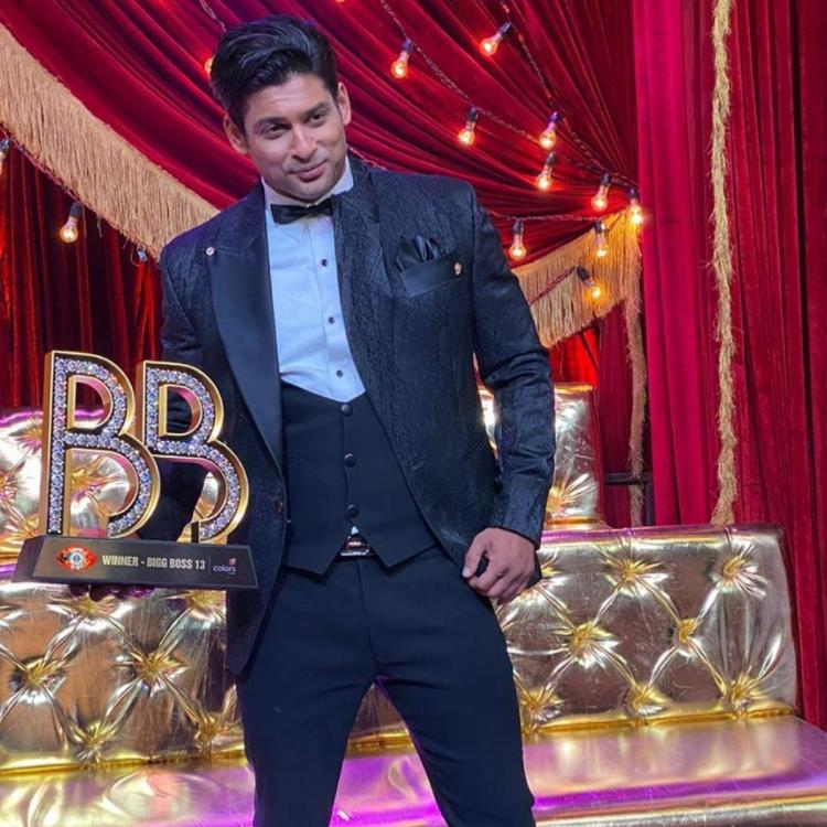 Bigg Boss 13 winner Sidharth Shukla shares a PHOTO with the trophy, Says 'Longstanding dream is fulfilled'