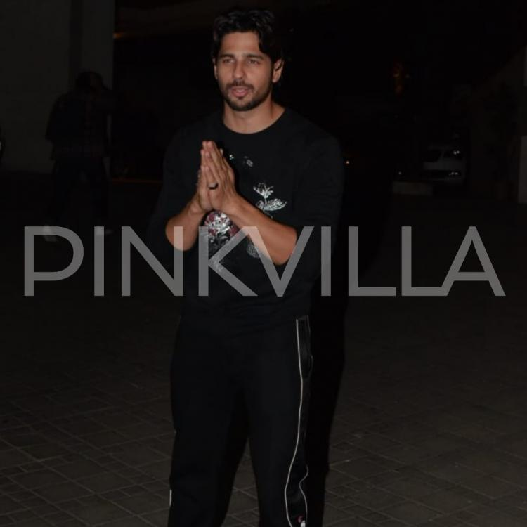Photos: Birthday boy Sidharth Malhotra greets the media and cuts the cake with fans