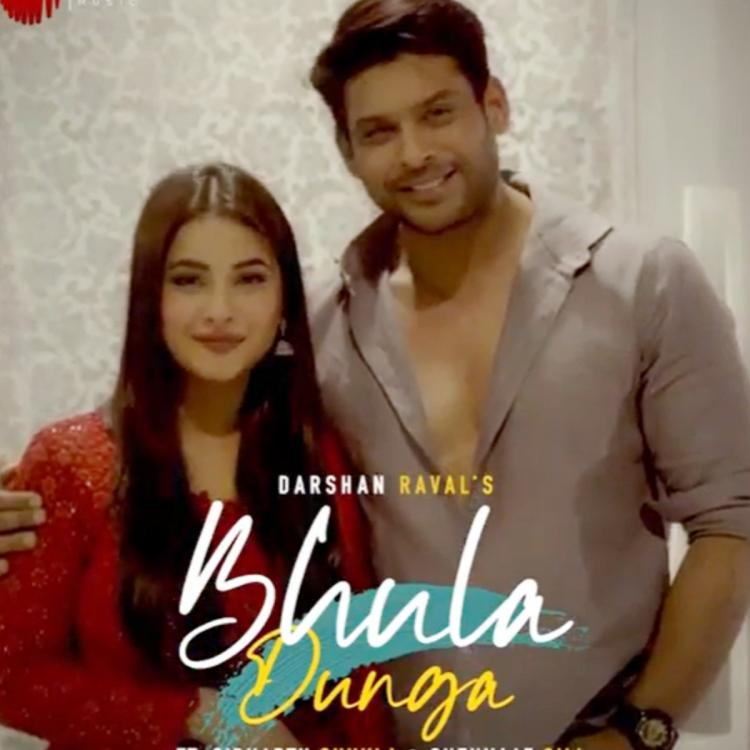 Sidharth Shukla and Shehnaaz Gill invite fans to watch Bhula Dunga; Here's when the song will release