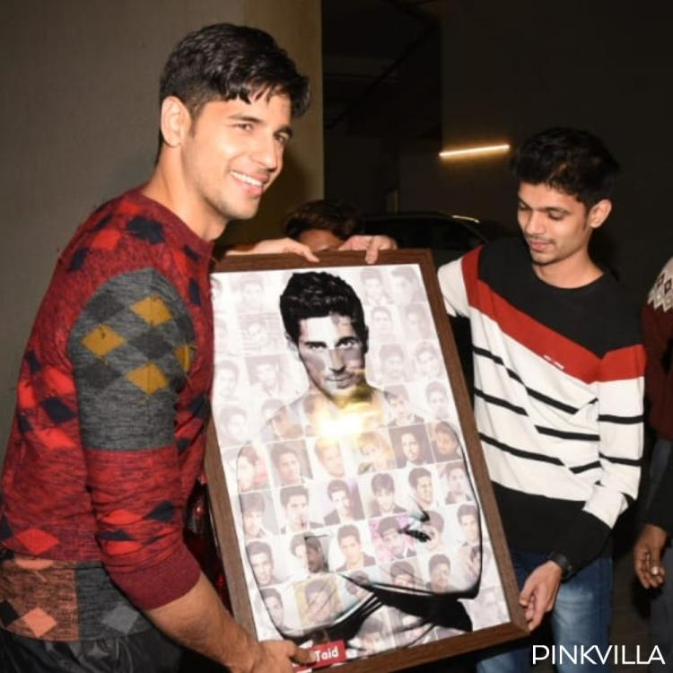 PHOTOS: Shershaah actor Sidharth Malhotra is all smiles as he celebrates his birthday with fans