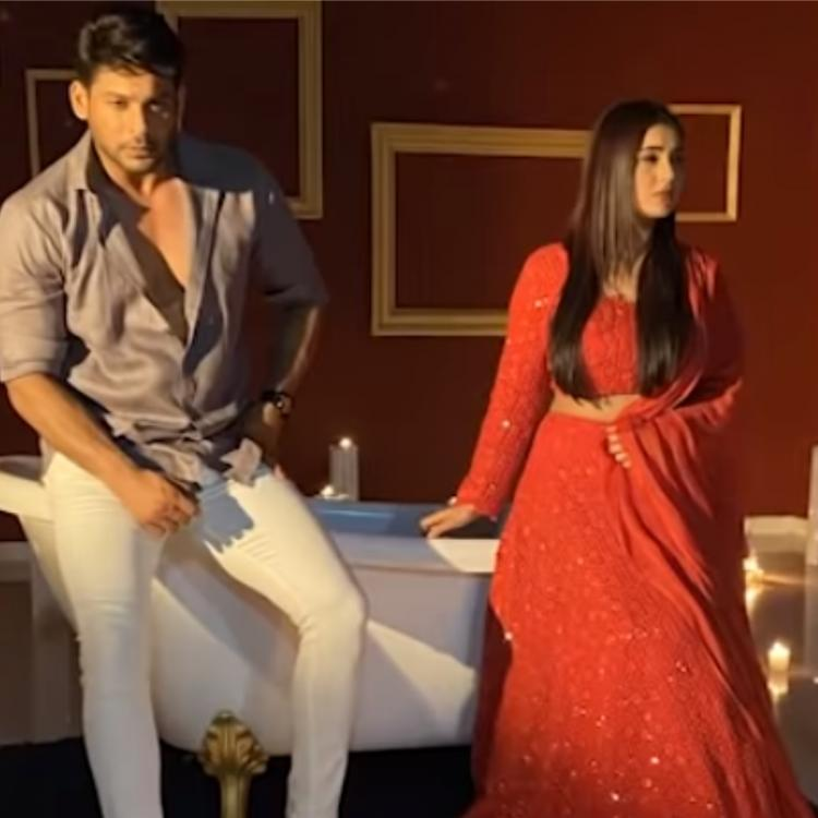 Sidharth Shukla shares a BTS video of Bhula Dunga featuring him & Shehnaaz Gill; WATCH