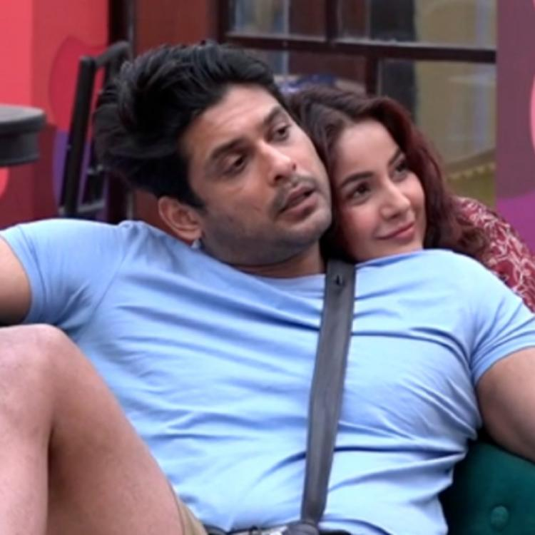 Bigg Boss 13: Sidharth Shukla plants a sweet kiss on Shehnaaz Gill's forehead as they get playful in the house