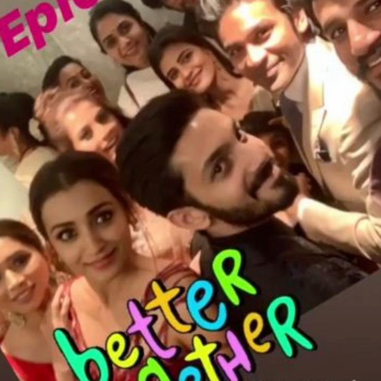 PHOTOS: Keerthy Suresh, Dhanush, Trisha, Tovino Thomas and others bond post SIIMA awards 2019