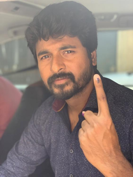 Sivakarthikeyan allowed to vote without being listed on electoral roll; EC to take action