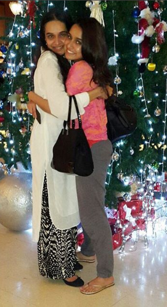 The Sweetest Christmas.Shraddha Kapoor Gets The Sweetest Christmas Gift In Bangkok
