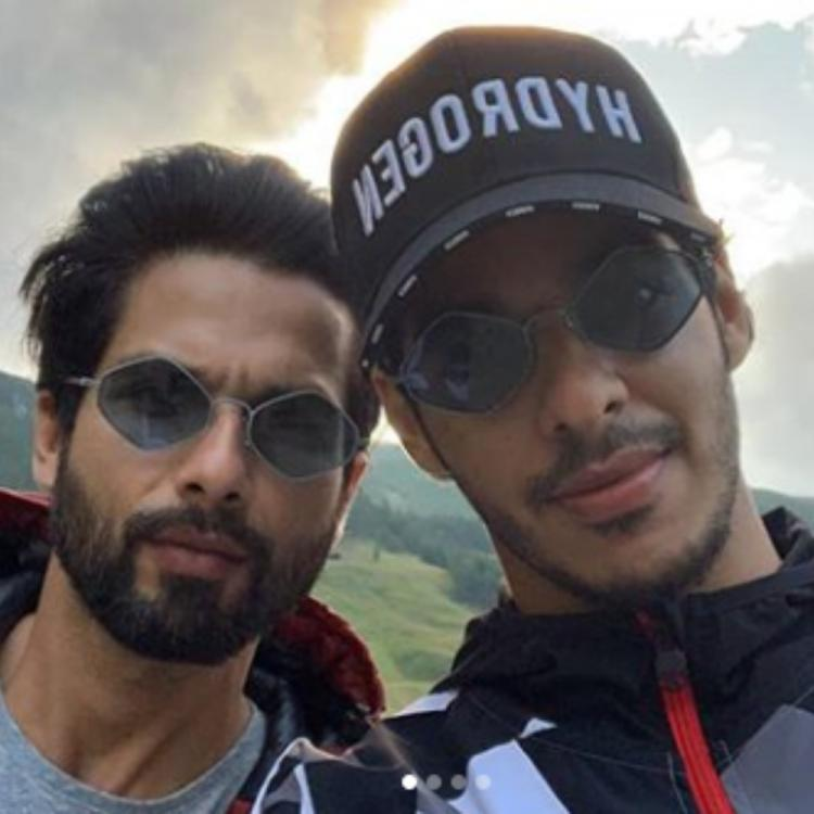 Shahid Kapoor, Ishaan Khatter & Kunal Kemmu turn biker pals as they get ready for a road trip; VIEW pics