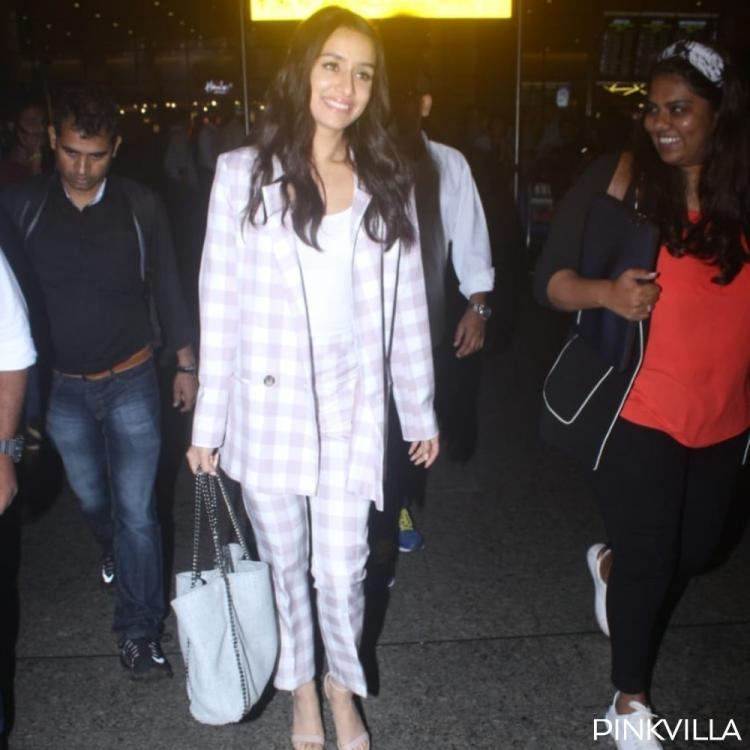 PHOTOS: Shraddha Kapoor is the perfect mix of trendy & classy as she arrives at the airport