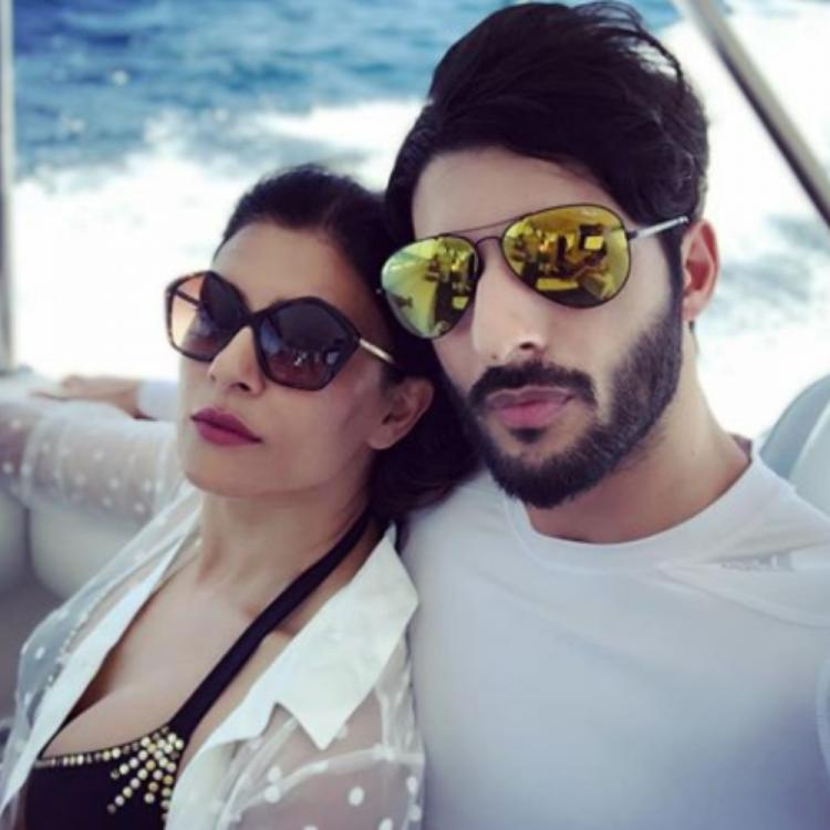 Sushmita Sen & boyfriend Rohman Shawl make for an adorable couple in THESE pics; check them out