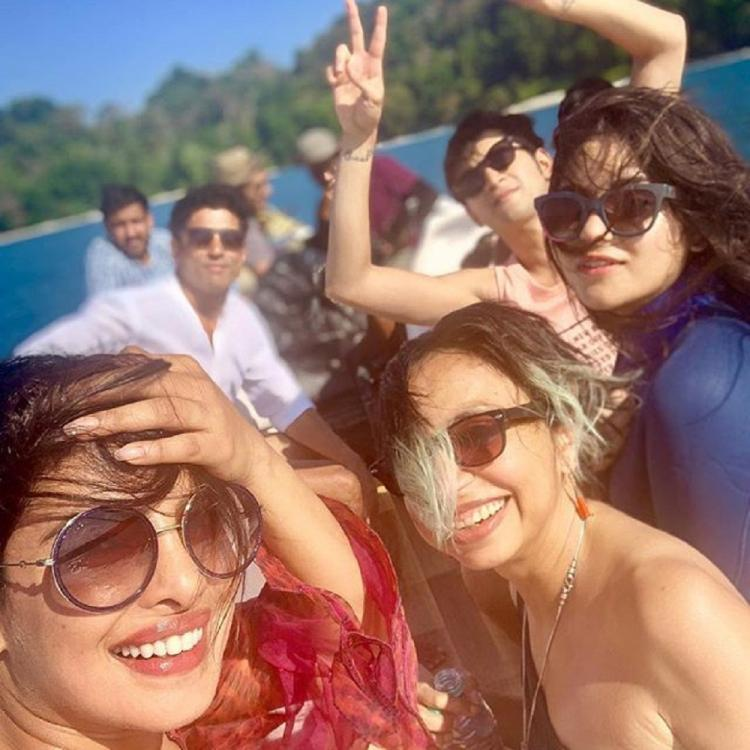 Priyanka Chopra and Farhan Akhtar starrer film The Sky Is Pink wraps up shooting in the Andamans; Read on