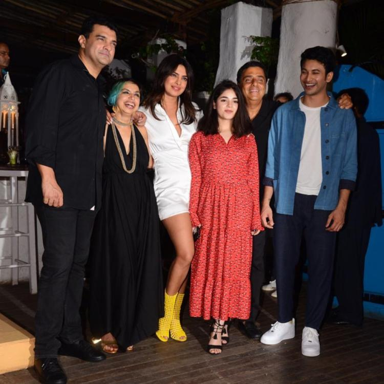 PHOTOS: Zaira Wasim & others join Priyanka Chopra at the wrap up party of The Sky is Pink