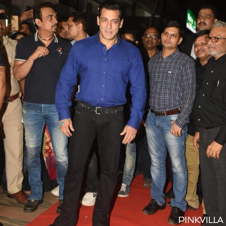 PHOTOS: Salman Khan joins co actors of Hum Aapke Hain Koun to celebrate 25 years of the film