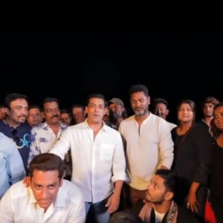 Salman Khan wraps up the shoot of Dabangg 3, shares a special message for late actor Vinod Khanna; Watch Video