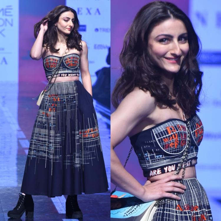 Soha Ali Khan pairs her Shahin Mannan outfit at LFW with THIS quirky accessory: Yay or Nay?