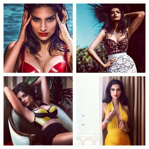 Magazine Covers,Sonam Kapoor,GQ