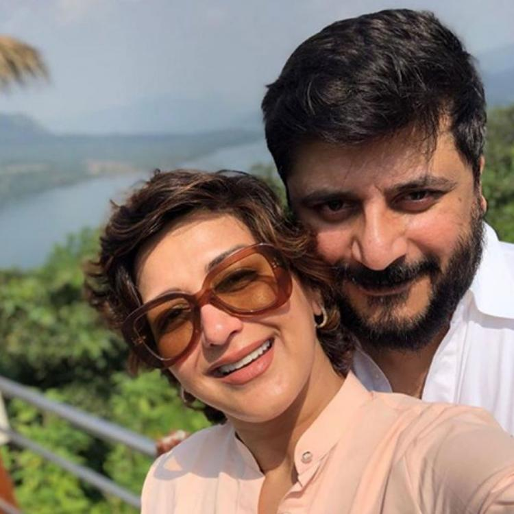 Sonali Bendre pens special message for her 'pillar of strength' Goldie Behl on their anniversary; See Post