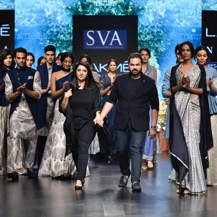 lakme fashion week,SVA Couture,Interview,Sonam and Paras Modi