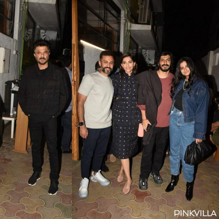 PHOTOS: Sonam Kapoor Ahuja and Anand Ahuja head out for a family dinner with Anil Kapoor, Rhea & others