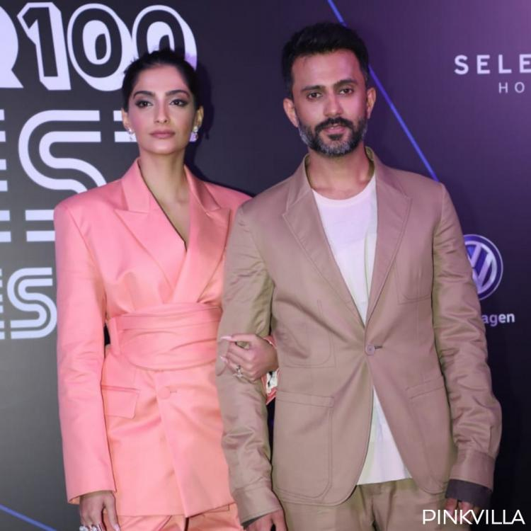 PHOTOS: Sonam Kapoor and Anand Ahuja are the perfect IT couple at the GQ 100 best dressed