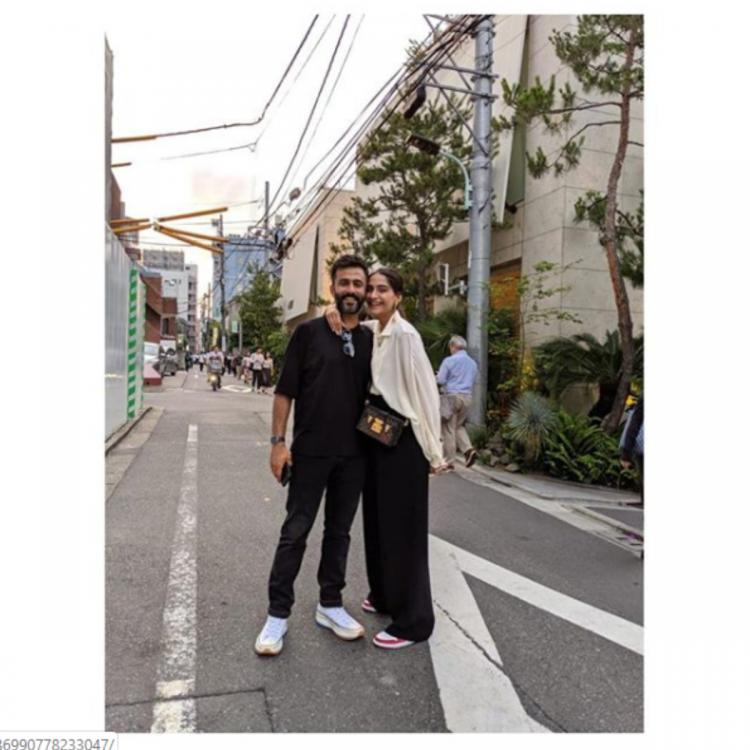 Sonam Kapoor and Anand Ahuja share memorable moments from their recent trip and we are all hearts
