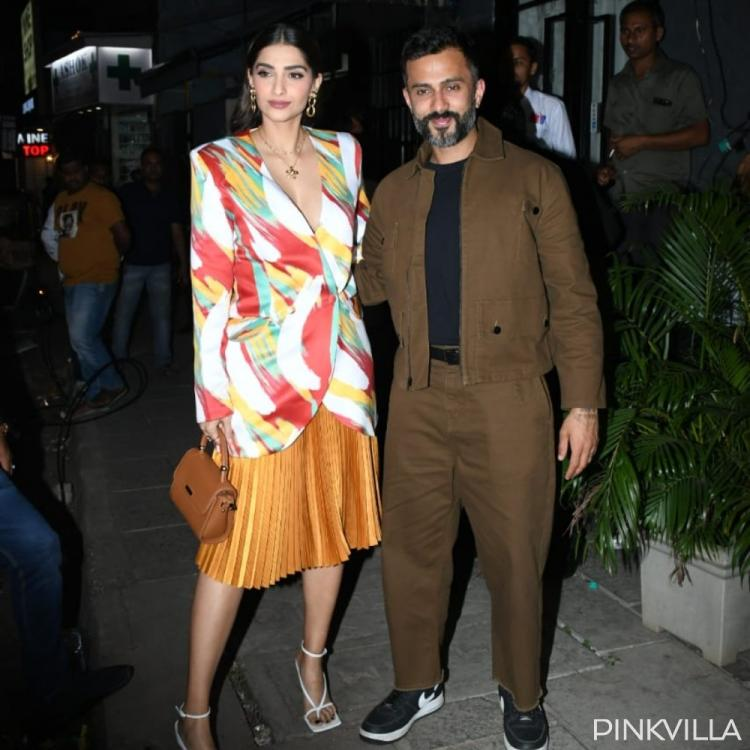 PHOTOS: Sonam Kapoor and Anand Ahuja make for a perfect couple as they step out in the city