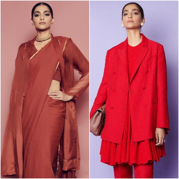 Sonam Kapoor in Anavila and Maison Valentino for The Zoya Factor promotions; Yay or Nay?