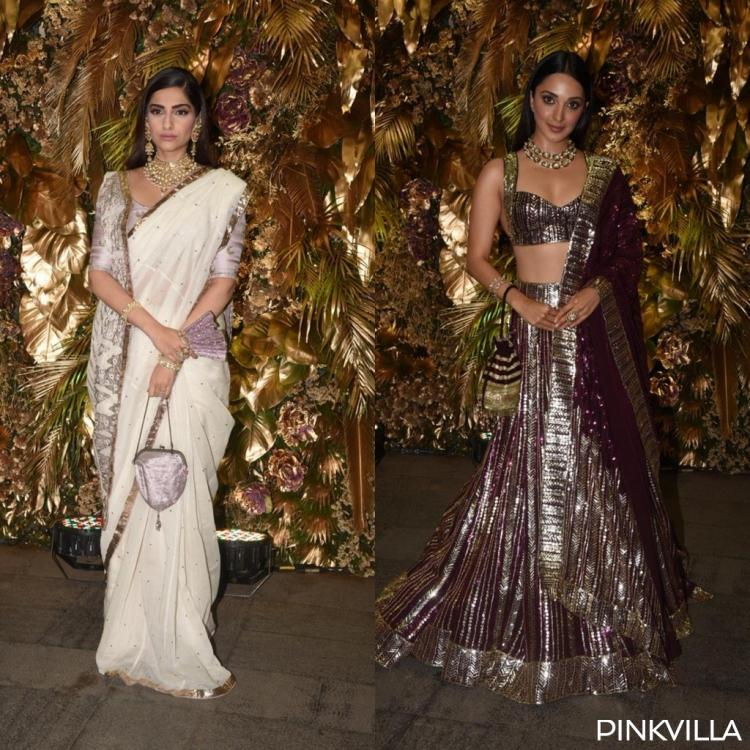 PHOTOS: Sonam Kapoor stuns in saree; Kiara Advani flaunts lehenga at Armaan & Anissa's reception