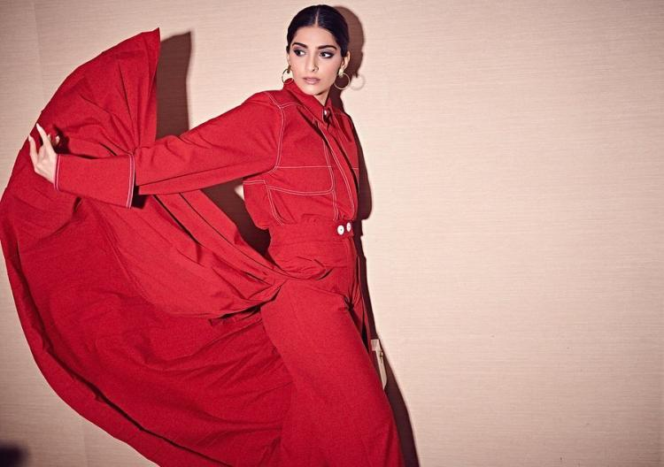 Sonam Kapoor in Notebook for the promotions of The Zoya Factor: Yay or Nay?
