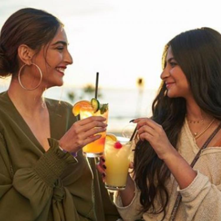 Sonam Kapoor Ahuja and Rhea Kapoor's new photos from LA are all about sister love and sunsets; Check out