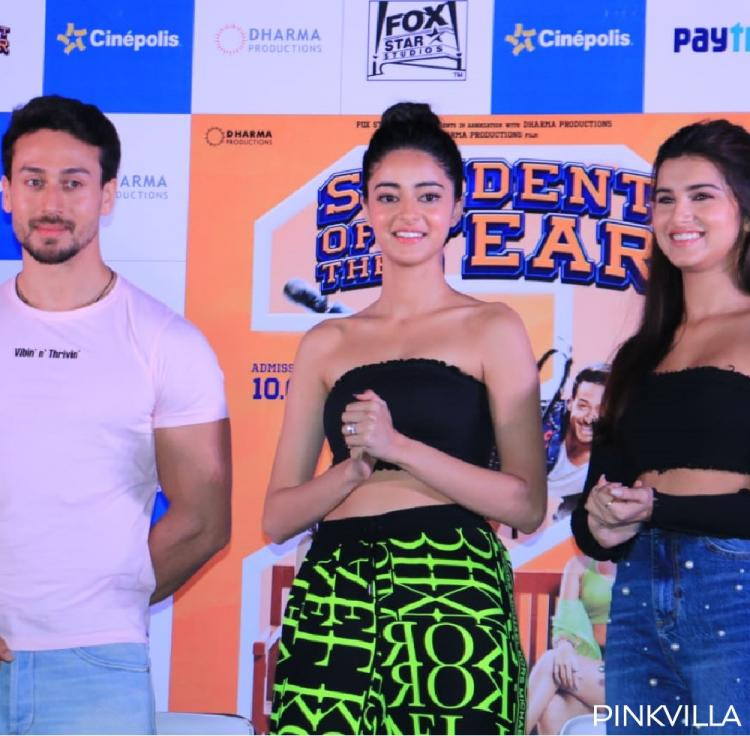 Photos,Tiger Shroff,SOTY 2,Student Of The Year 2,Tara Sutaria,Ananya Panday